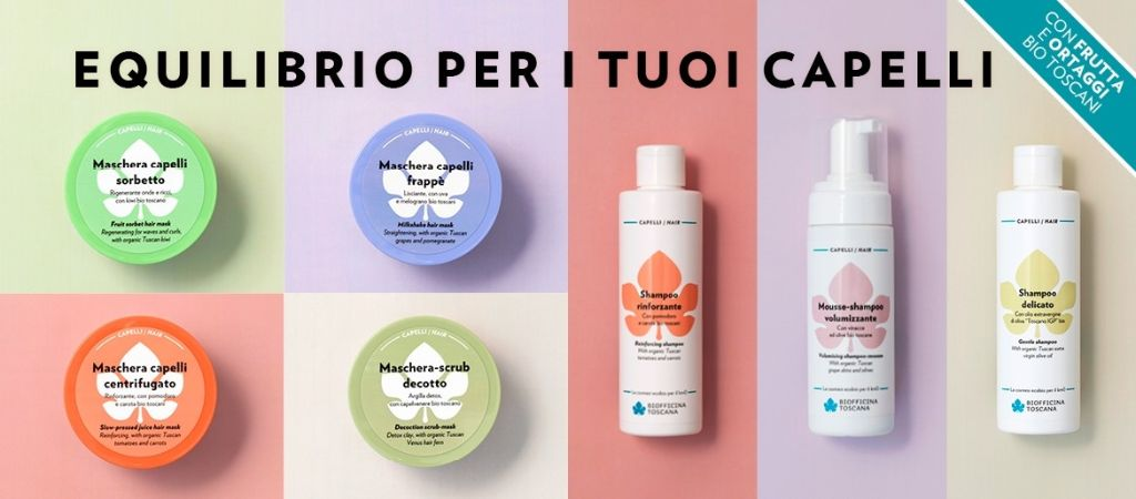 Focus-capelli:-recensione-novità-Biofficina-Toscana,-maschera-scrub